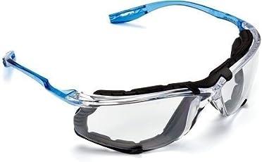 3M Virtua CCS Lentes protectores para los ojos, Empaque de espuma, Lentes anti niebla, Transparentes
