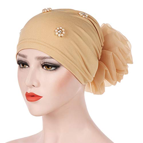 Haarausfall Hijab Chemo Krebs Set Damen Turban Kopftuch MCYs ...