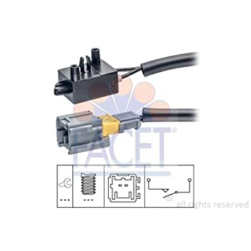 Facet Interruptor para embrague betàƒ € tigung (Gra), 7.1210: Amazon.es: Coche y moto
