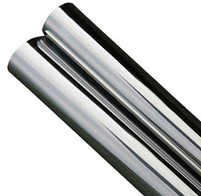 One Way Mirror Silver-Silver CHROME Film 2 PLY - Size 24