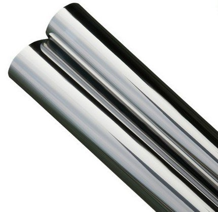One Way Mirror Silver-Silver CHROME Film 2 PLY - 5% - size 24