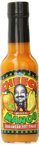 Cheech Mojo Habanero Hot Sauce, Mango, 5 ()