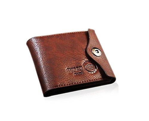 Leather Bifold Wallet Holder Pocket product image