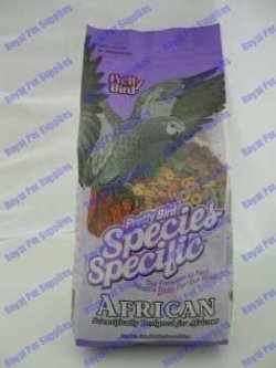 Pretty Bird Species Specific African Bird Food with Extra Calcium Food, 40 lb. by Pretty Bird