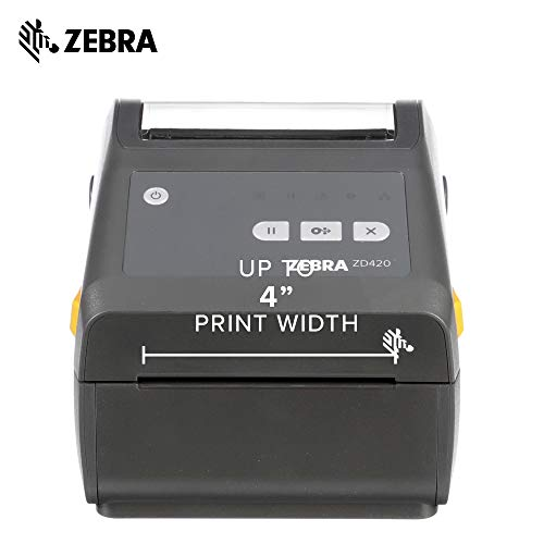 Zebra - ZD420d Direct Thermal Desktop Printer for Labels and Barcodes - Print Width 4 in - 203 dpi - Interface: USB - ZD42042-D01000EZ by Zebra Technologies (Image #2)