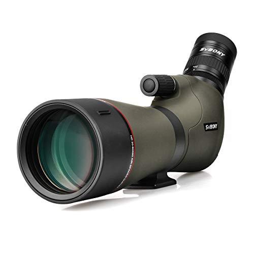 SVBONY SV46 20-60x80 Waterproof Spotting Scope Dual Focus Telescope Target Shooting Hunting Bird Watching HD Zoom Monocular