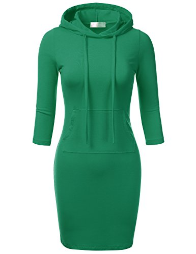 FLORIA Raglan Bodycon Kangaroo Pockets product image