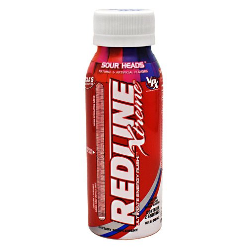 Vpx Redline Xtreme, Sour Heads, 24 Count
