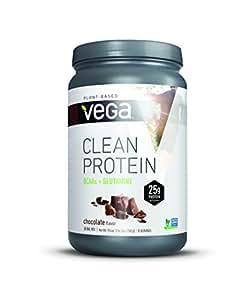 Vega Clean Protein Powder, BCAAs plus Glutamine, Chocolate, 19.5oz, 15 Servings