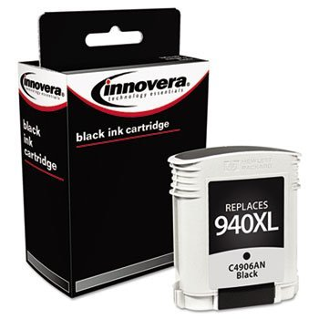 Innovera Remanufactured C4906AN (940XL) Ink, 2200 Page-Yield, Black