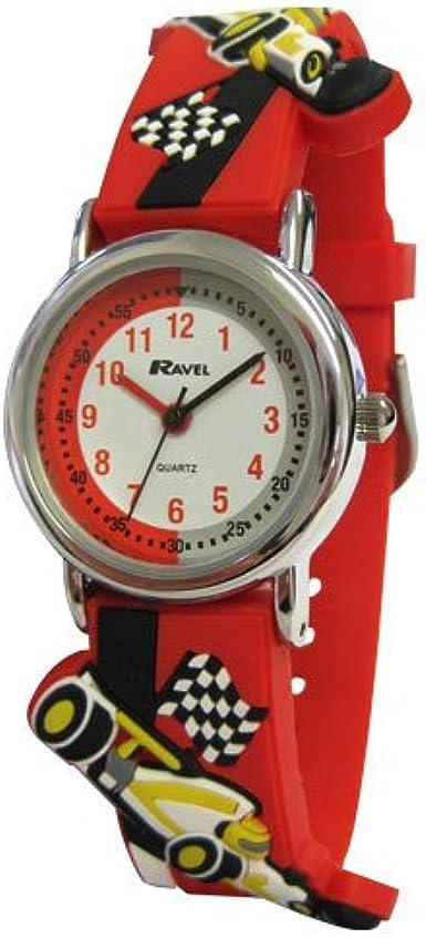Ravel R1513.31R - Reloj para niños de Cuarzo, Correa de plástico Color