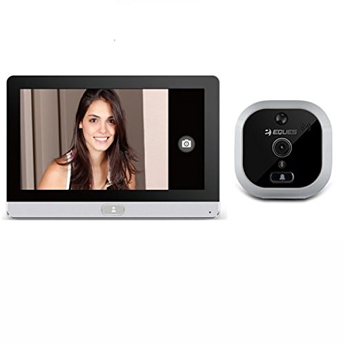 81 opinioni per Eques R22 wireless Spioncino Digitale Porta camera 2Mpx Con Schermo Display