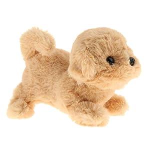 Harilla Plush Electronic Toy Dog Smart Electronic Interactive Puppy Dog Pet Soft Plush Animal Plays Tricks, Barks, and…