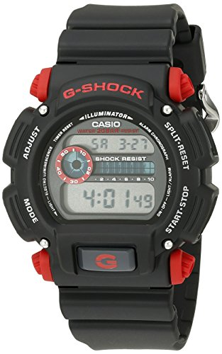 G Shock DW9052 1C4CR Black Resin Sport