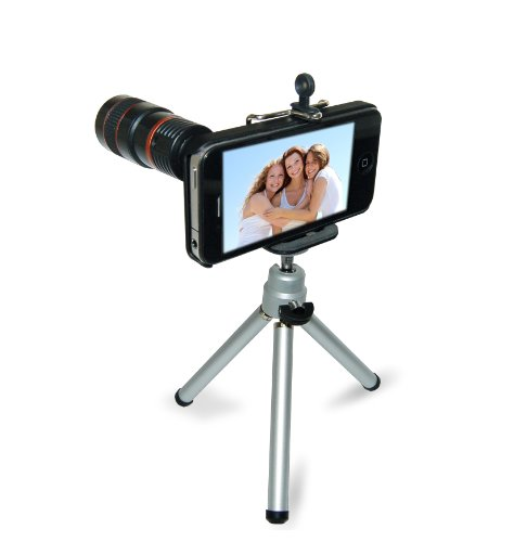 IPhone 4 Stand and Zoom Lens Kit