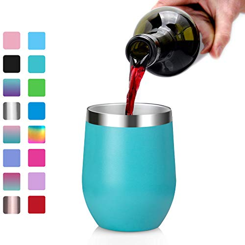 Stainless Steel Wine Tumbler, Arteesol 12oz (340ml) for sale  Delivered anywhere in Canada