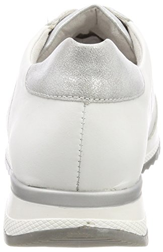 Remonte R7011 Top Reinweiss Sneakers Low Ice White Women's 4rHqOw4