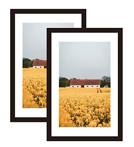 11x17 frame with mat - 8