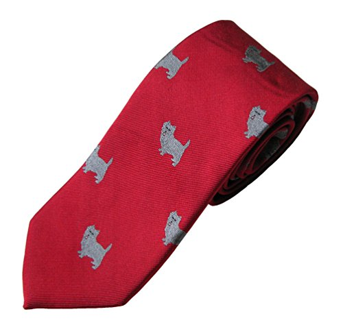 Cairn Terrier Tie (Men's Dog Breed Neck Tie)