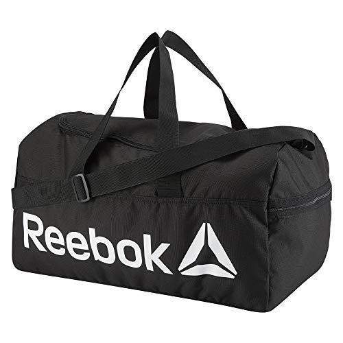 Reebok Act Core M Grip Sport Duffel, 25 cm, 30 liters, Black (Negro)