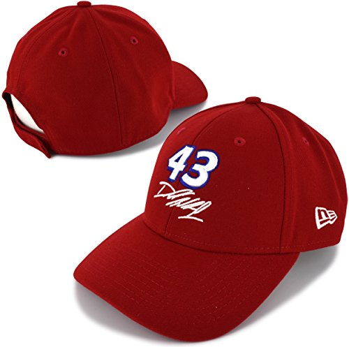 Nascar Red Number - New-Era Darrell Bubba Wallace 2018 Red Big Number 43 NASCAR Hat