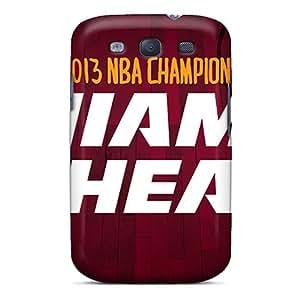 Samsung Galaxy S3 IcE15898NXrU Provide Private Custom HD Miami Heat Pattern Best Hard Phone Cover -JonathanMaedel
