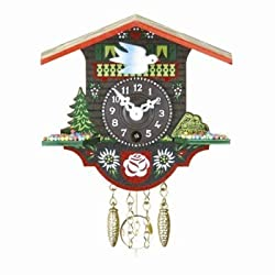Small Black Forest Clock