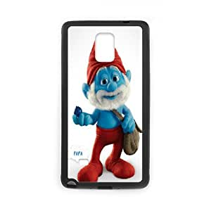 DIY Phone Cover Custom Smurfs For Samsung Galaxy Note 4 N9100 NQ2842612