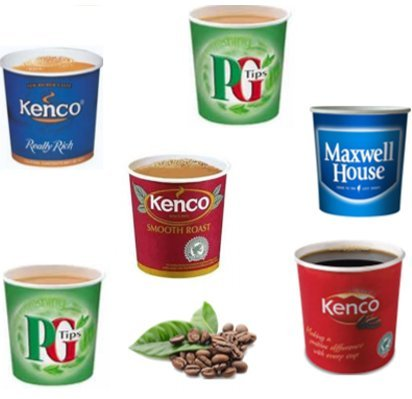 in-Cup Drinks Kenco,MaxwellHouse,Douwe Egbert, PG Tips,Cappuccino (PG Tips White)
