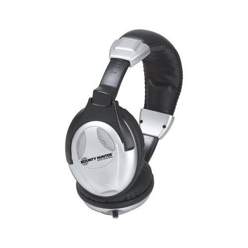 Bounty Hunter Metal Detector Binaural Headphone - Wired Connectivity - Stereo - Over-the-head HEAD-W