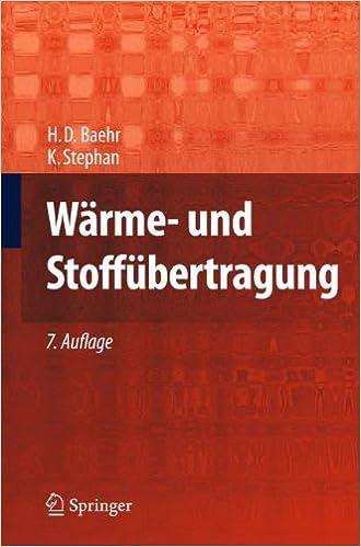 Book Wärme- und Stoffübertragung
