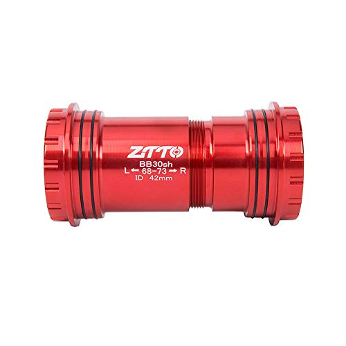 ZTTO BB30sh BB30 24 Adapter Bicycle Press Fit Bottom Brackets Axle for MTB Road Bike Parts Prowheel 24mm Crankset chainset ()