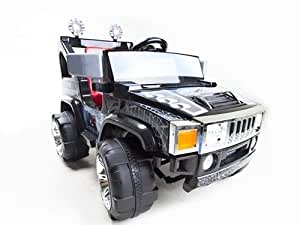 12V RC BATTERY POWER KIDS RIDE ON HUMMER JEEP CAR W/ BIG WHEELS & R/C REMOTE