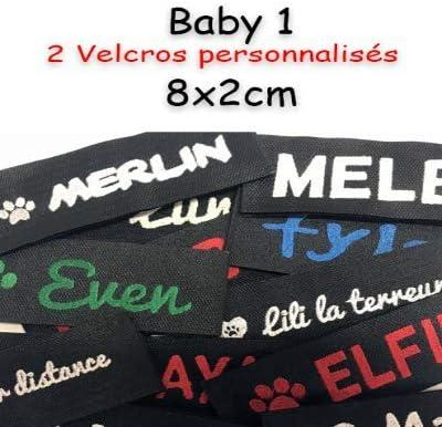 Canicaprice Velcro Personalizado Julius K9 8 x 2 cm: Amazon.es ...