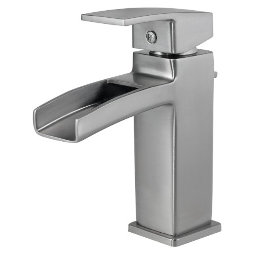 Pfister Brushed Nickel Waterfall Faucet Pull Down Brushed Nickel Pfister Faucet