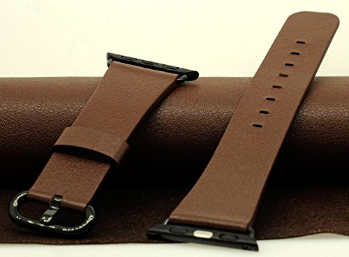 JSGJMY Genuine Leather Replacement Watchbands
