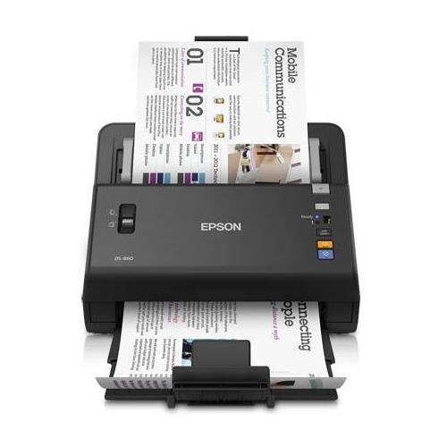 Epson WorkForce DS-860 Wireless Color Document Scanner (Certified Refurbished) by Epson