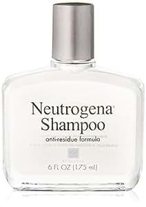 Neutrogena Shampoo, Anti-Residue Formula, 6 Fluid Ounce (Pack of 6)