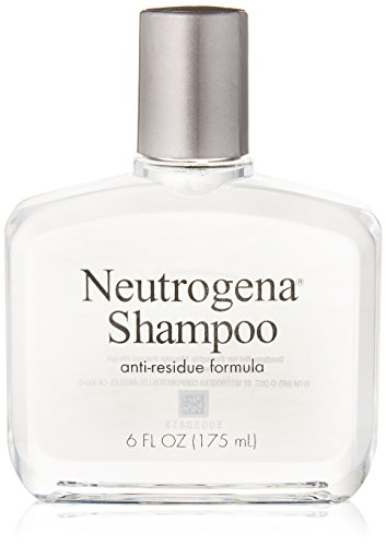 Neutrogena Anti-Residue Shampoo, Gentle Non-Irritating Clarifying Shampoo to Remove Hair Build-Up & Residue, 6 fl. oz (Pack of 6)