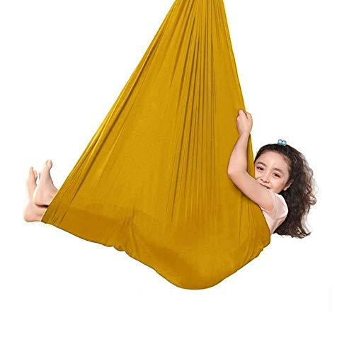 ZCXBHD Swing Hammock Hangstoel voor kind en volwassene met speciale behoeften Therapie Sensory Swing met 200kg…