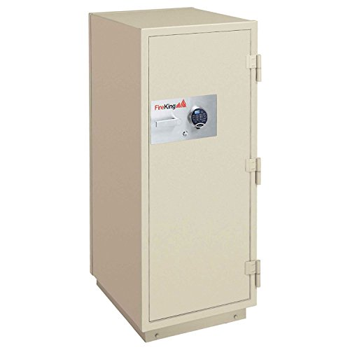 Fireking KR3921-2TA 2-Hour Fire with Impact & Burglary Rated Safe, 49.88'' H x 25.5'' W x 28.88'' D/8.9 cu. ft., Taupe by FireKing