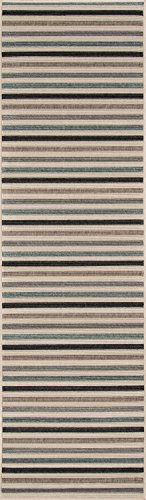 Momeni Rugs , Baja Collection Contemporary Indoor & Outdoor Area Rug, Easy to Clean, UV protected & Fade Resistant, 2'3