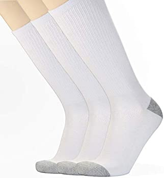 3-Pack Awesome 360 Cotton Half Cushion Over-the-calf Men's Socks