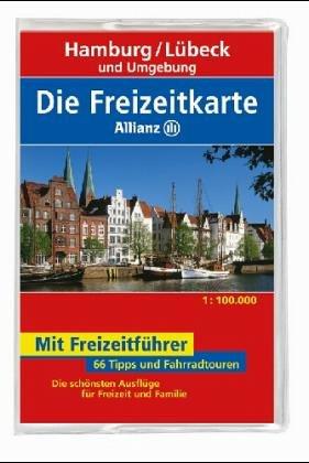 Die Freizeitkarte Allianz, Bl.5, Hamburg, Lübeck und Umgebung