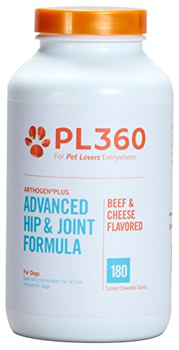 PL360 Advanced Hip & Joint Support for Dogs, 180 chewable tablets -