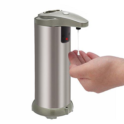 Kitchen Bathroom Touchless Automatic Sensor Liquid Soap Dispenser - 8