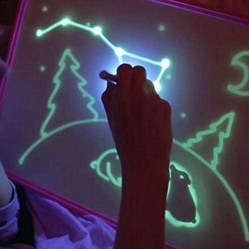Tableta luminosa A4 Night Light Drawing Board Set Magic Draw con ...