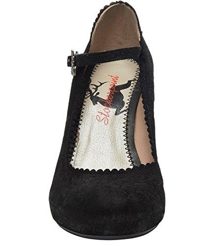 6005schwarz mujer Zapatos negro Stockerpoint Court para negro qtw0waR