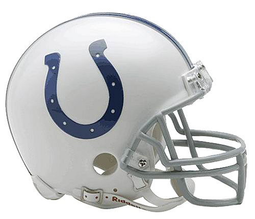 - NFL Indianapolis Colts Replica Mini Football Helmet