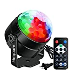 Nequare Disco Lights Sound Activated Strobe Light Disco Ball Dj Lights Party Lights